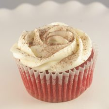Ruby Red Velvet Cupcake Lady